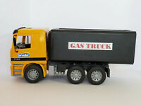 Bruder Actros Gas Truck Yellow & Black