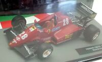 Altaya 1/43 Scale Model Car 1101IR13 - Ferrari 126 C3 1983 Rene Arnoux