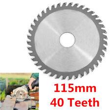 115mm Angle Grinder Circular Saw Blade For Cutting Wood Plastic 40 TCT Teeth