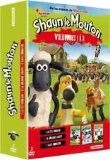 Shaun Le Mouton-Volumes 1 à 3 Coffret 3 DVD Neuf sous cellophane