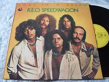 R.E.O. Speedwagon Lost in a Dream ORIG U.K. 1974 EPIC 1st Press L.P. EX/EX+