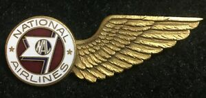NATIONAL AIRLINES FLIGHT ATTENDANT JACKET WING