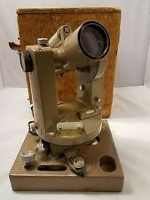 Vintage Dietzgen transit theodolite model a survey surveying construction optics