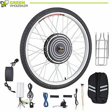 "48V 1000W 26"" Front Wheel Electric Bicycle Motor Conversion Kit Bike eBike SET"