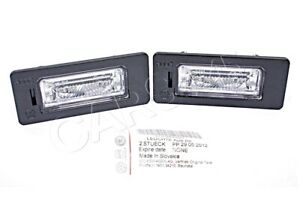 Genuine Audi A1 TT A4 A5 A6 Q5 VW Passat 2 License Plate Lights 08-16 8T0943021