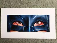 Batman Adam West Tv Show Print Poster Mondo Eyes Without A Face Jason Edmiston