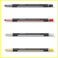 Staedtler Lumocolor Twister Trocken Markierer Permanent - Black-White-Yellow-Red