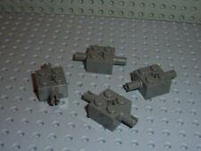4 x LEGO OldDkGray pieces ref 30000 / Set 4482 7146 7159 4476 7103 ...
