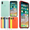 New Original Luxury Silicone Case Cover For Apple iPhone 6 7 8 Plus X XR XS Max