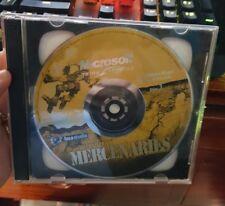 Microsoft Mechwarrior Mercenaries (NO FRONT SLEEVE) -  PC GAME - FREE POST *