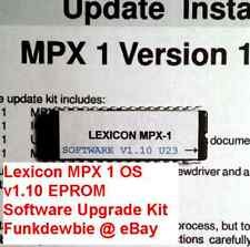 Lexicon MPX 1 OS v1.10 EPROM Software Upgrade Kit