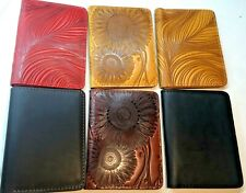 Turtle handmade Genuine Leather 3 in 1 wallet, card holder, passport cover
