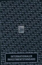 INTERNATIONALER INVESTMENTBLISTER 1 Gramm Palladiumbarren Feingehalt 999,5 LPPM