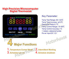 DC 12V 10A Multifunction Digital Microcomputer Temperature Controller Thermostat
