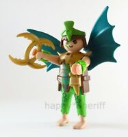 Playmobil Green Asian Dragon Warrior w/ Wings Mystery Series 13 9332 NEW