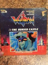 VTG 1985 Voltron Defender of the Universe: The Buried Castle Paperback Book