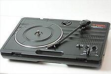 Vestax Handy Trax USB Turntable Audio Record Player W/Speaker Black USED F/S EMS
