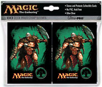 80ct Garruk Green Symbol-Art Deck Protector Card Sleeves MTG Ultra Pro 66 x 91mm