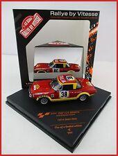 FIAT 124 ABARTH * #38 * Safari Rally 1974 * ulyate * Vitesse * 1:43 * OVP * NUOVO