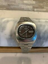 Vintage Seiko 7006-5009 Mens 17 J Self-Winding Automatic Watch Day Date Working