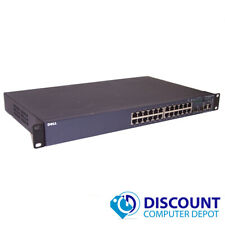 Dell PowerConnect 3424 24 Port Managed Fast Ethernet Network Switch 2x SFP