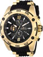 Invicta 28977 Marvel Venom Men's Chronograph 52.5mm Gold-Tone Steel Rubber Watch