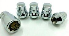 4 X ALLOY WHEEL LOCKING NUTS M12 x 1.5 60 TAPER FOR JAGUAR X-TYPE 01-09 BOLT [43