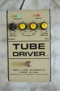 Chandler Tube Driver Vintage Overdrive Guitar Effects Pedal - Earliest Version