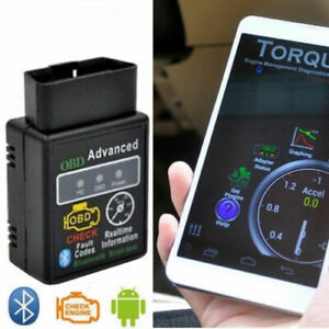 ELM 327 OBD2 DIAGNOSI AUTO OBDII BLUETOOTH per Android diagnostica AUTOMOTIVE