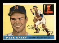 1955 Topps Set Break # 206 Pete Daley EX *OBGcards*