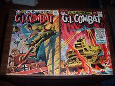 G.I. Combat 96-153----lot of 8 comic books
