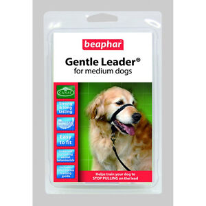 Beaphar Gentle Leader med black