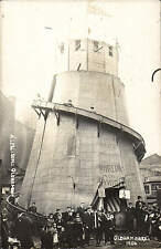 Oldham Wakes 1906 by Allen & Sons, Oldham. Helter Skelter Fairground Ride.