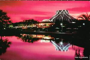 ORLANDO FL Disney World Epcot Land Pavilion Sunset Vtg