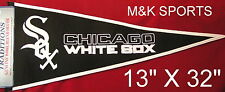 CHICAGO WHITE SOX EMBROIDERED TRADITIONS WOOL PENNANT FREE SHIPPING SALE PRICED