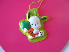 Sanrio Pochacco Trinket Ornament Tag Vintage '89, '94 New
