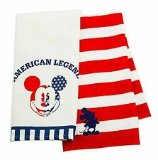 New Disney Kitchen Towel Set of 2 Americana Mickey Mouse American Legend Patriot