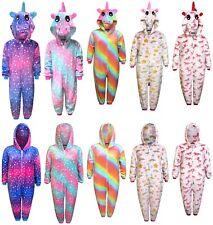 Kids Unicorn 1Onesie Girls Pyjamas Boys Sleepsuit Gifts for Children Animal