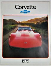 1979 Chevrolet Corvette Sales Brochure Poster Ken Dallison