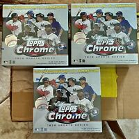 2020 Topps Chrome Update Series LOT OF 3 Mega Box SEALED NEW
