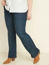 NWT: old navy High-Waisted Plus-Size Pull-On Boot-Cut Jeans $37 (20 short)