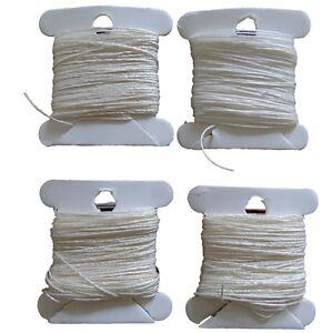 Bookbinding Sewing Thread - Natural Un-Dyed, Waxed, Medium Weight