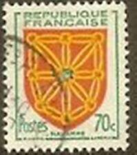 """FRANCE TIMBRE STAMP N° 1000 """" ARMOIRIES DE PROVINCES , NAVARRE 70c """" OBLITERE TB"""