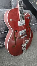Gretsch G6120SH Setzer Hot Rod Electric Guitar, Roman Red, Superb'