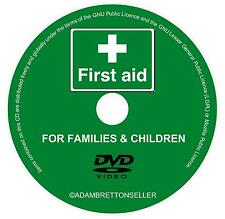 BASIC EMERGENCY FIRST AID CARE FOR BABIES, KIDS, FAMILIES - GUIDE VIDEO DVD