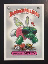 1985 Garbage Pail Kids OS1 Buggy Betty 39a Matte Back Card!! TWT