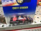 1991 Hotwheels #441 Blue Card Chevy Stocker Rare in Blister Pack