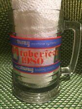 Westway 1980 Oktoberfest Glass Beer Mug Stein Tankard