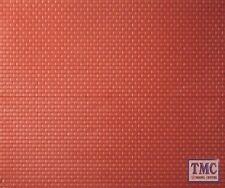 306 Ratio Tile Roofing N Gauge Plastic Kit 4 sheets 75mm x 90mm