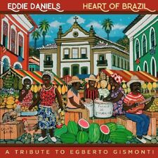 EDDIE DANIELS - HEART OF BRAZIL   CD NEUF